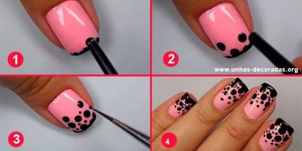 Tutorial-passo-a-passo-Unhas-decoradas-rosa-com-bolinhas-pretas-660x330.jpg